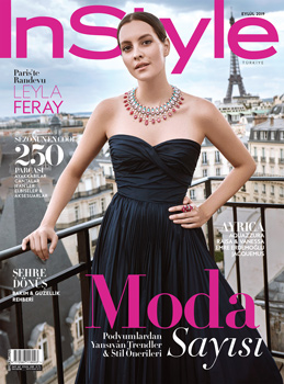 Instyle Cover | Leyla Feray